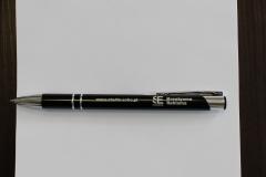 notes, długopis z grawerem